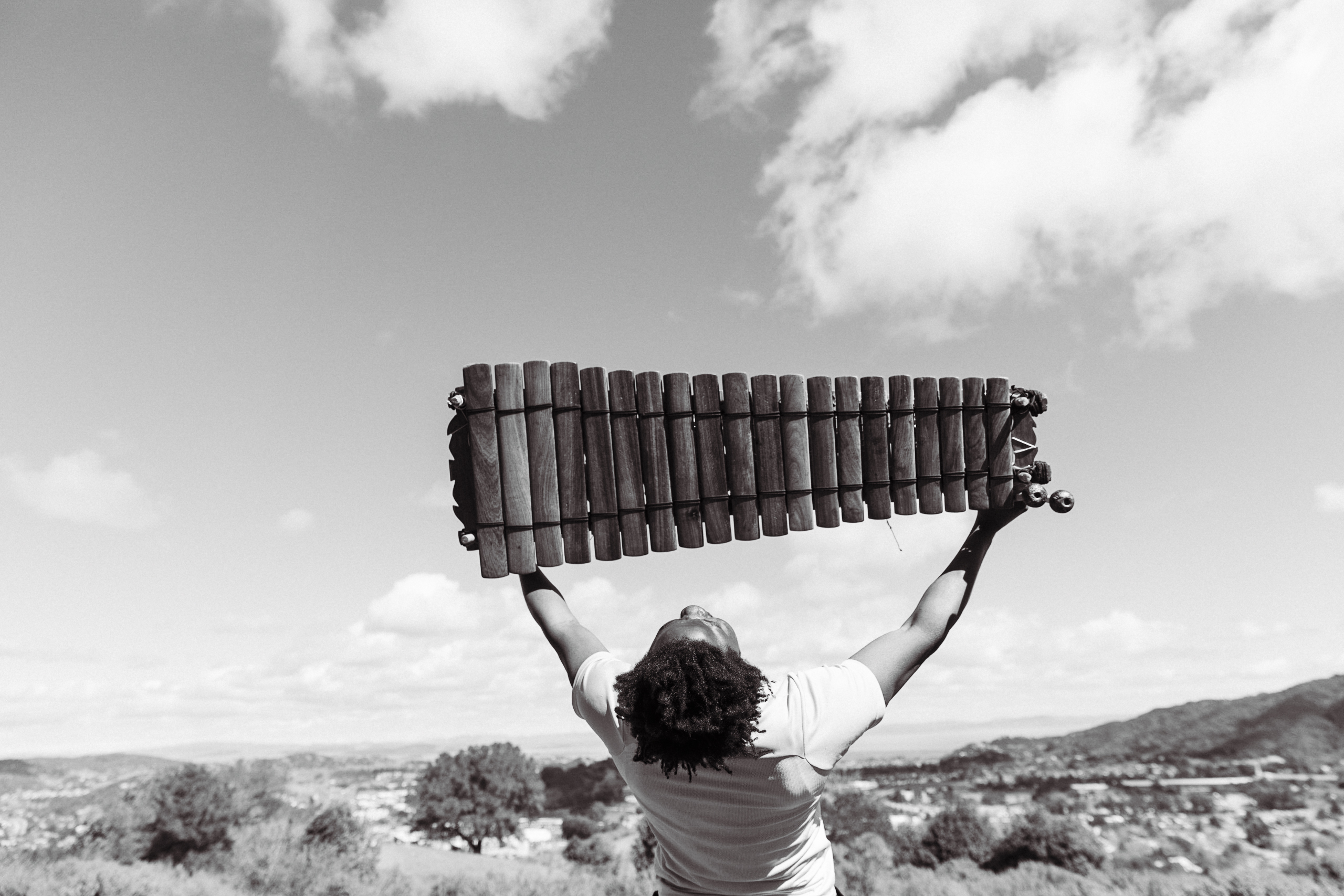 Balafon in the air of San Francisco by Adama Bilorou